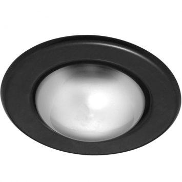 Spot embutir e 27 sem lampada preto