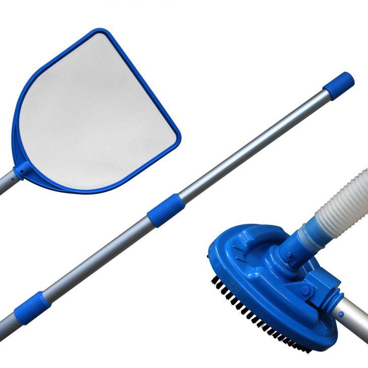Kit Limpeza P de Piscina Azul Cod: NA511AC61RHMMOB