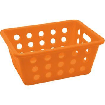Cesta pequena small basket laranja 14 cm