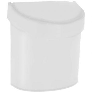 Lixeira para pia retro top trash bin branco 15 cm