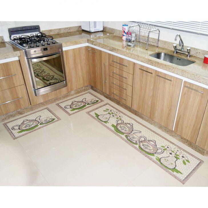 Baby Pads Tapete Higienico : tapete de cozinha sisal 3 pe?as look bule sobre o tapete de cozinha