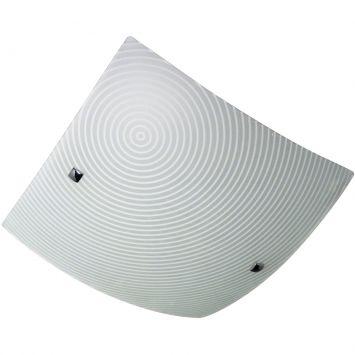 Plafon harmony circle 40 cm branco