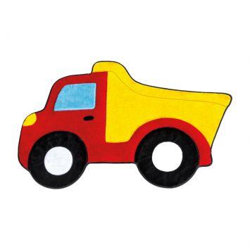 Tapete Infantil Formato Caminhão Caçamba Vermelho Cod: GU206AC90CJPMOB