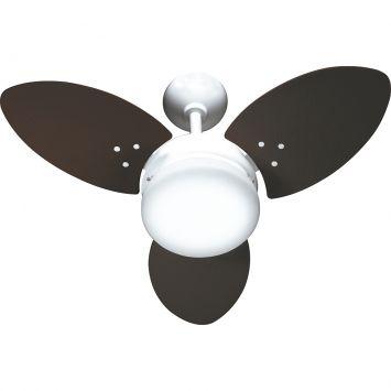 Ventilador ventura 220v 3p ctm at branco 138 7w teto branco tabaco
