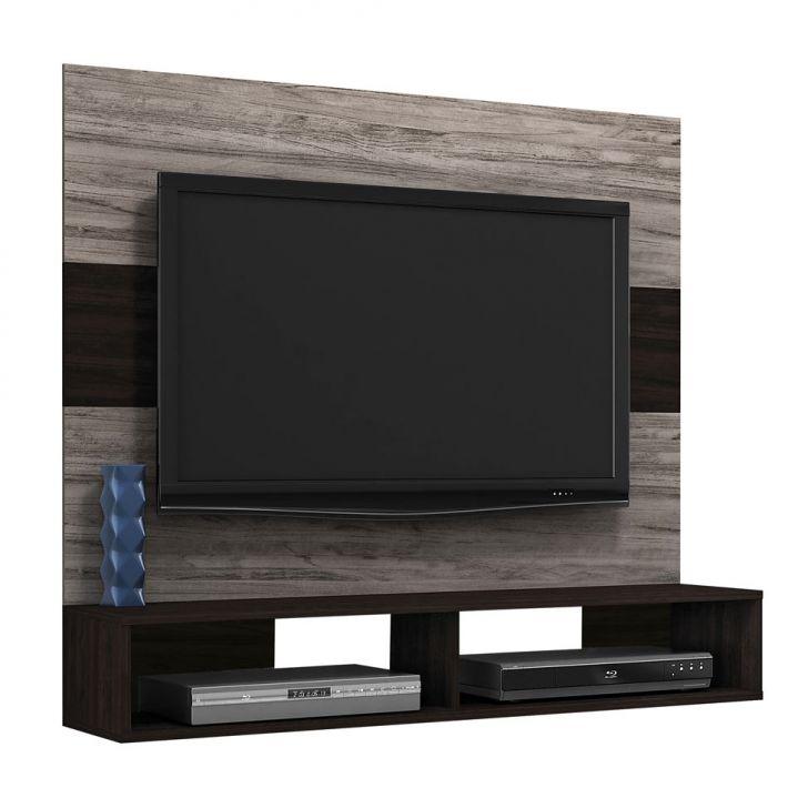 Painel para TV 1.2 Alpes Cinza Silver e Ebano Cod: 7899568210036