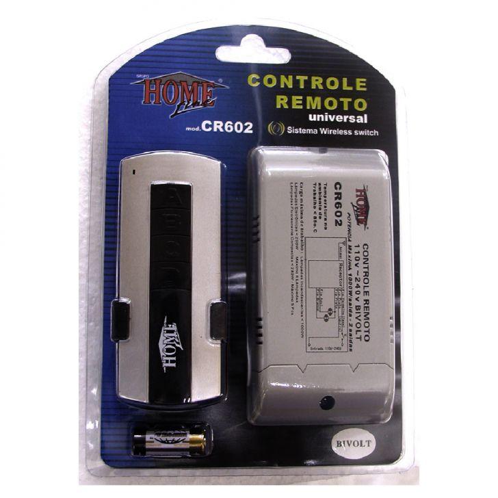 Controle Remoto CR602 Cod: 7897181862700