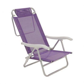 Cadeira sol de verao lilas
