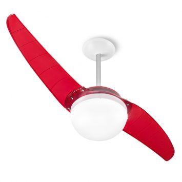 Ventilador de teto spirit prime 202 vermelho 220v