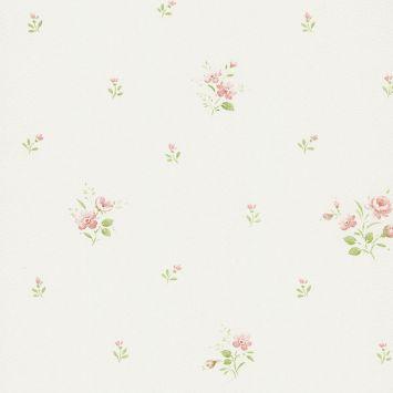 Papel de parede figuras as bege rosa 5047