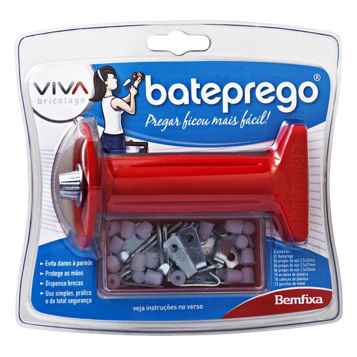 Kit K-1 Vermelho 67 peças Bateprego