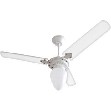 Ventilador de teto tramontana 110 127v 3p cpm new branco 138 7w branco