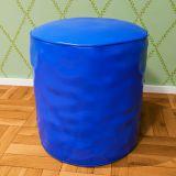 Puff Redondo Corino Azul Absolut