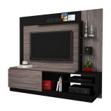 Home Theater Glass Cinza e Preto