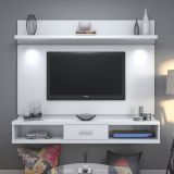 Rack Alto You 1.8 Branco Gloss Com Led