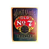 Placa Jack Daniels Green