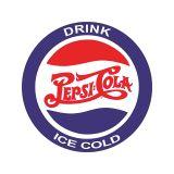 Placa Pepsi Cola Redonda