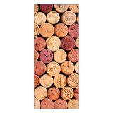 Adesivo Decorativo de Porta - Rolhas - 140pt-P