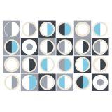 Adesivo de Azulejo - Abstrato - 082Az-P