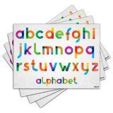 Jogo Americano - Alfabeto com 4 peças - 292Jo