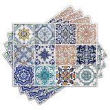 Jogo Americano - Azulejos com 4 peças - 003Jo