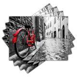 Jogo Americano - Bicicleta Vintage com 4 peças - 348Jo