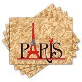 Jogo Americano - Paris com 4 peças - 285Jo