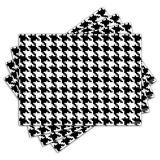 Jogo Americano - Pied-de-Poule com 4 peças - 158Jo