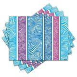 Jogo Americano - Waves com 4 peças - 225Jo