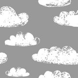 Papel de Parede Adesivo - Nuvens - 029ppt