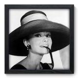 Quadro Decorativo - Audrey Hepburn - 006qdh