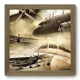 Quadro Decorativo - Aviação - 029qdd