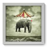 Quadro Decorativo - Elefante - 007qdi