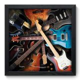 Quadro Decorativo - Guitars - 006qdg