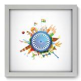 Quadro Decorativo - India - 098qdm