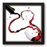 Quadro Decorativo - Taça de Vinho - 018qdc