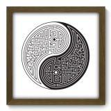Quadro Decorativo - Yin Yang - 005qddm