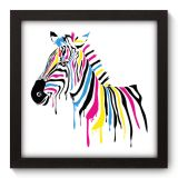 Quadro Decorativo - Zebra - 034qdv