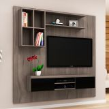 Home Theater E1704 Carvalho e Preto
