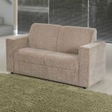 Sofá 2 Lugares Roma Chenille Bege American Comfort