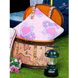 Edredom Almofada Infantil Borboleta 01 Peça - Rosa
