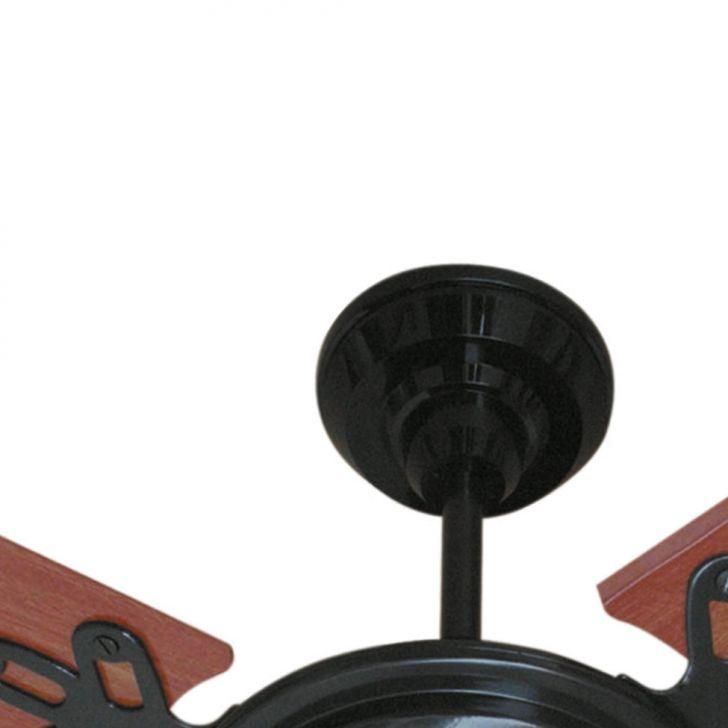 Ventilador de Teto Arlux Preto 127 V 3 Pas Mogno Cv 130 W