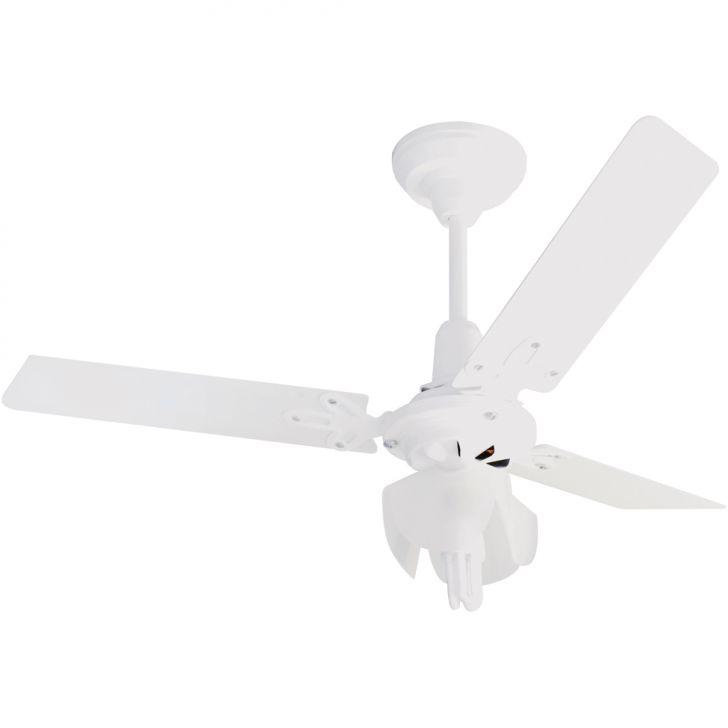 Ventilador de Teto Economic Olimpic Branco 127 V 3 Pas Branca Cv 130 W