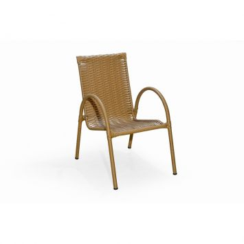 Cadeira Priscila Marrom I Art Ferro Priscila
