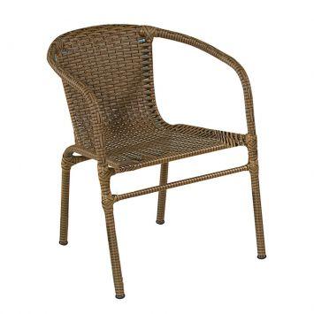 Cadeira Tamiris Marrom Art Ferro Tamiris