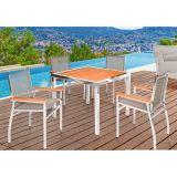Conjunto Pietra com 04 cadeiras e 01 mesa