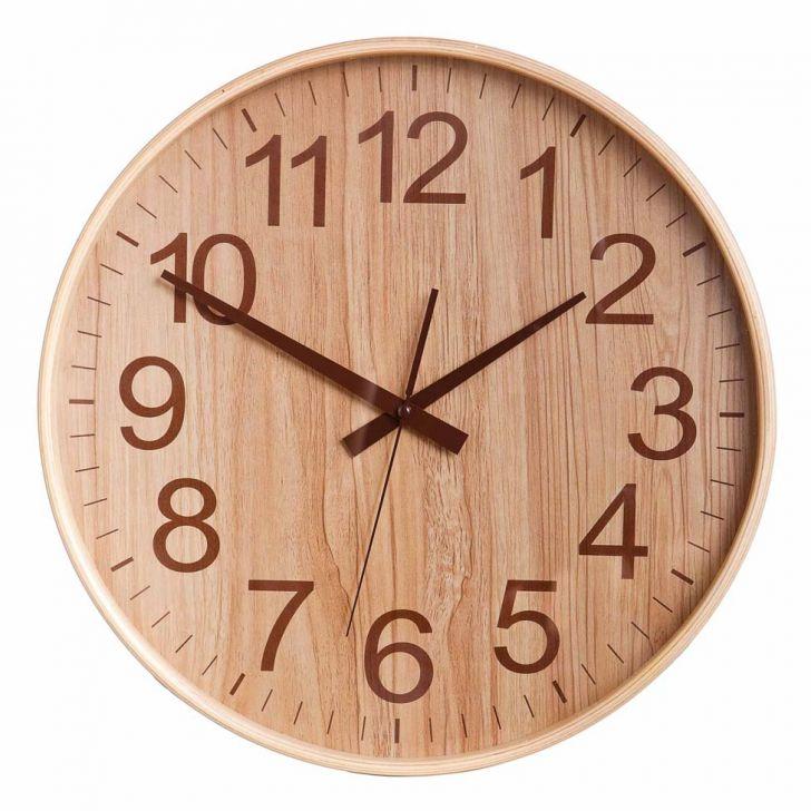 Relógio Log 26 Cm Amendoa