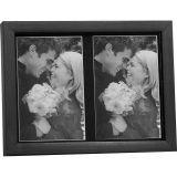 Porta-Retrato Season Preto 2 fotos 13 x 18 cm