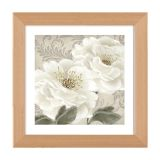 Quadro Decorativo Floral QDFL0067-1034 Colorido 103x103 cm