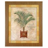 Quadro Palm 1 Marfim 57 x 47 cm