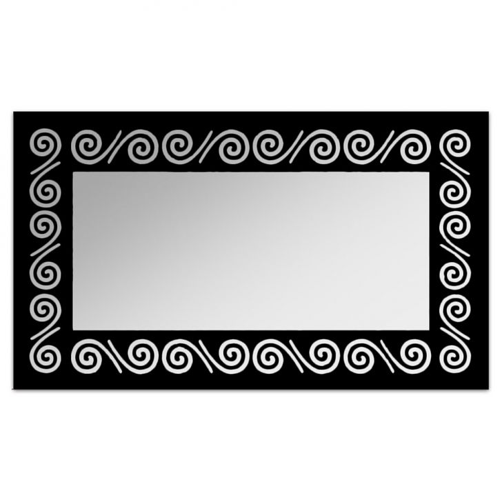Espelho De Parede 12878P Preto 70x110 Art Shop DESCONTO DE R$: 188,00 (36,15% OFF) - OFERTA MOBLY
